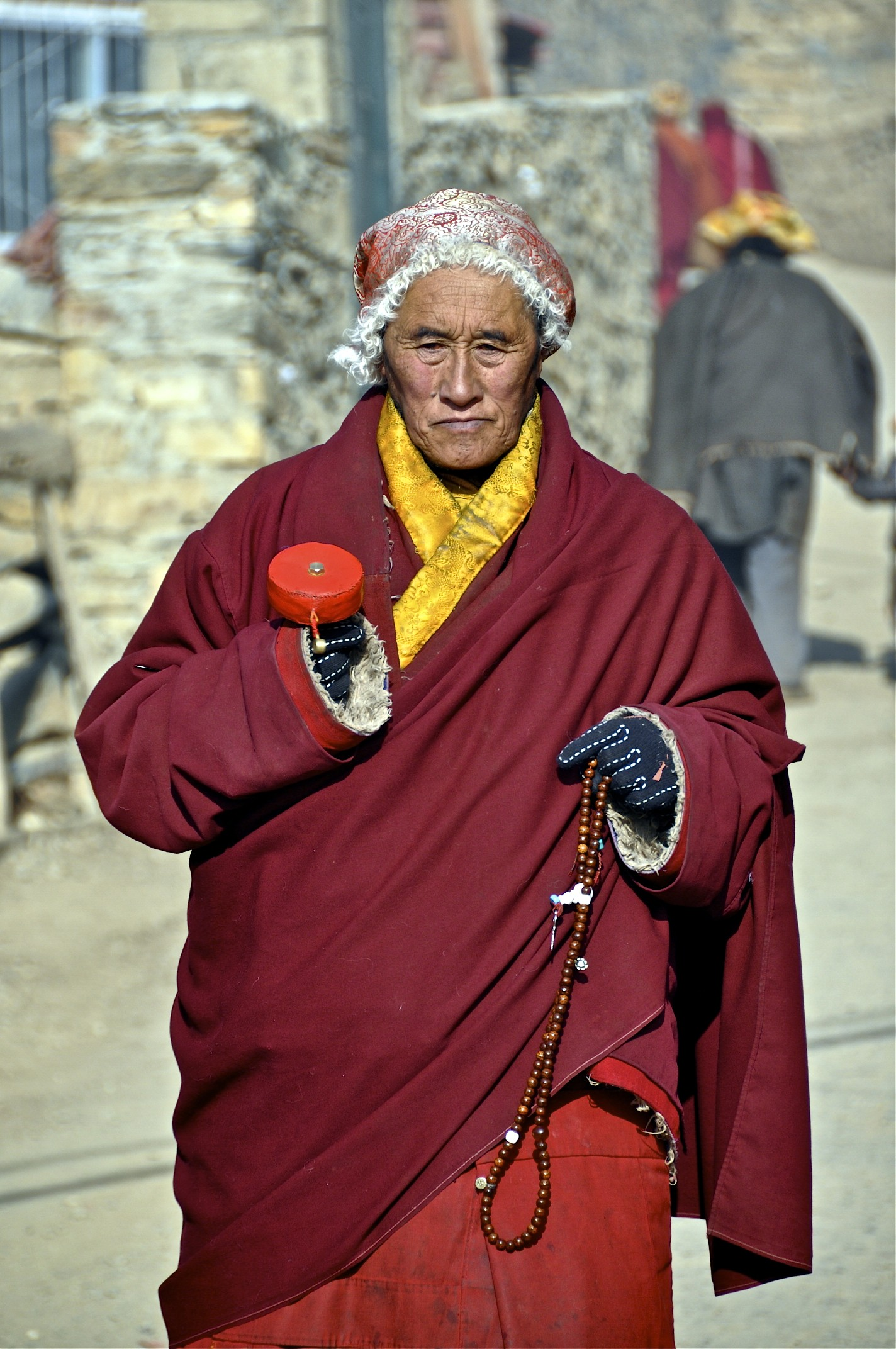 """buddhist monks """"now, kalamas, don't go by reports, by legends, by traditions, by scripture, by logical conjecture, by inference, by analogies, by agreement through pondering views, by probability, or by the thought, 'this contemplative is our teacher."""