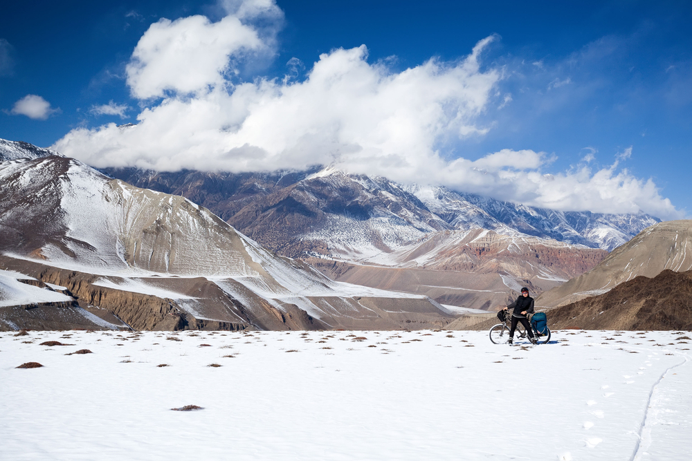 cycling in Tibet
