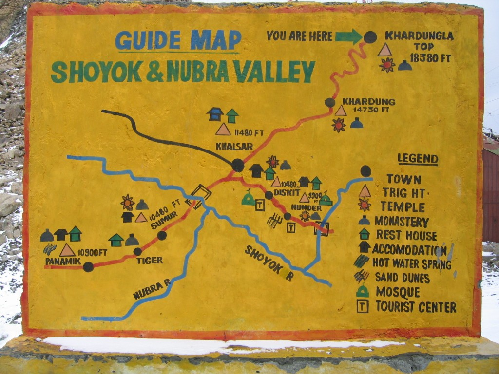 Shoyok_and_Nubra_Valley_map
