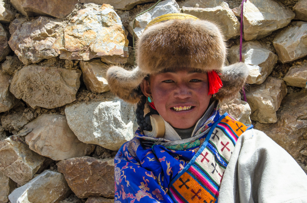 A Tibetan young man in the Everest region