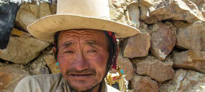Tibetan Men from the Everest Region