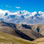 The Himalaya Mountains viewed from Tibet