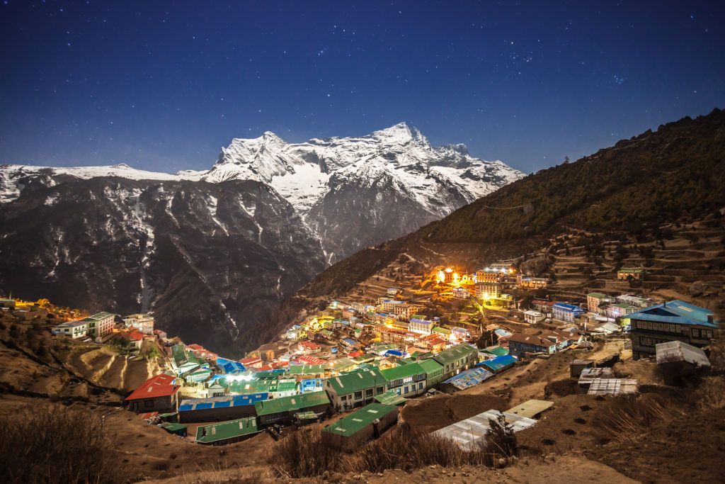 Namche Bazaar