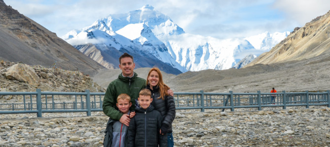 Traveling in Tibet with Children