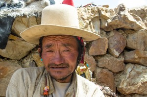 Tibetan man from Everest Region